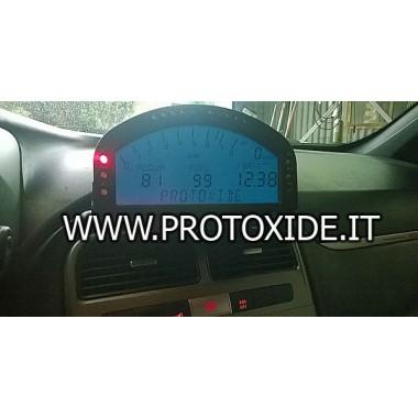لوحة أجهزة القياس الرقمية لشركة فيات 500 - أبارث GrandePunto لوحات رقمية
