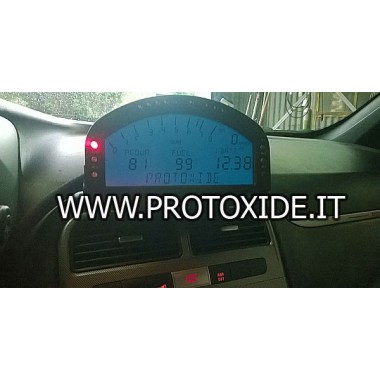 Digitaal dashboard voor Fiat 500 - Abarth GrandePunto Digitale dashboards