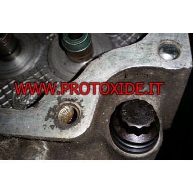 Pernos de cabeza ARP reforzados para Fiat Punto GT 10 mm 1400-1600 Pernos de cabeza reforzados