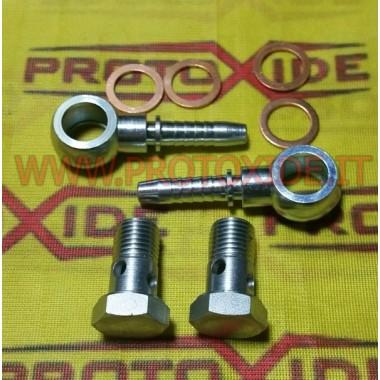 Accessoris turbocompressor GT40-42-45 aigua amb mànega de 18 mm curt accessoris Turbo