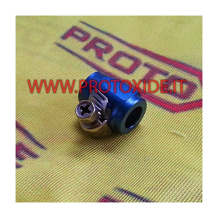 Clamp nut for aeronautical 8mm inner tube