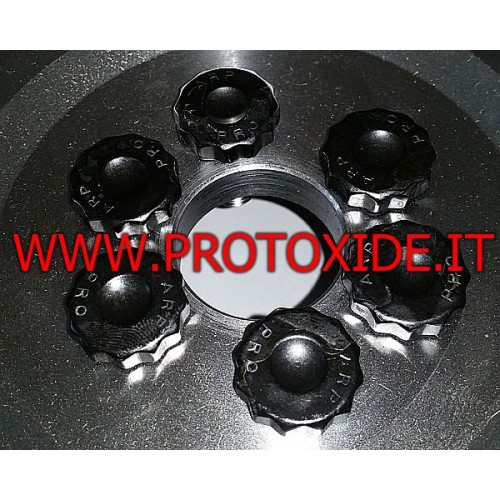 Bulloni volano rinforzati Lancia Delta 2000 8-16v Fiat Coupe 16v 12mm Bulloni volano rinforzati