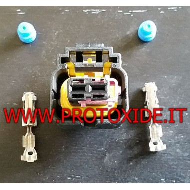 2-штырьковый разъем разъем Bosch и Delphi инжекторов Автомобильные электрические разъемы