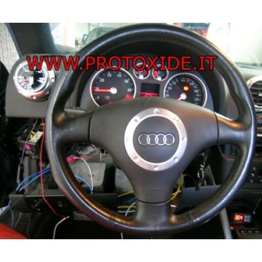 Audi TT Ahtopainemittari asennettu tyypin 1 Painemittarit Turbo, Bensiini, Öljy