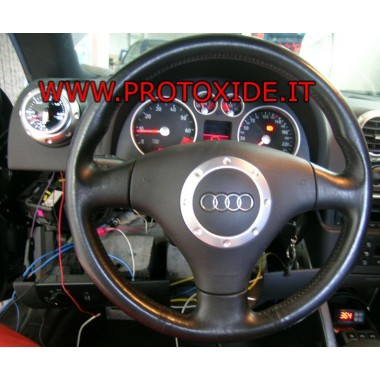 Audi TT turbo zainstalowany manometr typu 1 Manometry Turbo, benzyna, olej