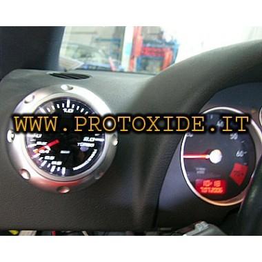 Audi TT turbo spiediena mērītājs uzstādīts uz 1 tipa Spiediena mērinstrumenti Turbo, benzīns, eļļa