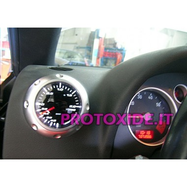 audi TT turbo pressure gauge installed on type 1