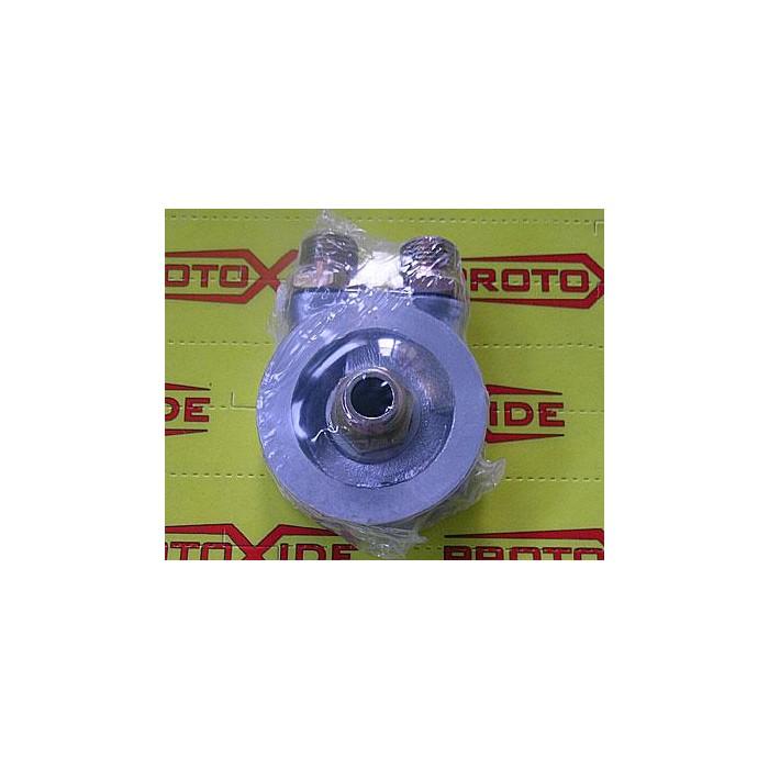 Adaptador para montar el enfriador de aceite con termostato Soporta filtro de aceite y accesorios enfriador de aceite