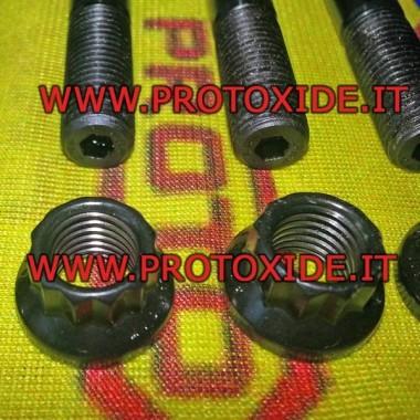 Förstärkta huvudbultar för Fiat 500 Abarth - Panda 100 hk - T-jet - Brandmotorer Testade fångar