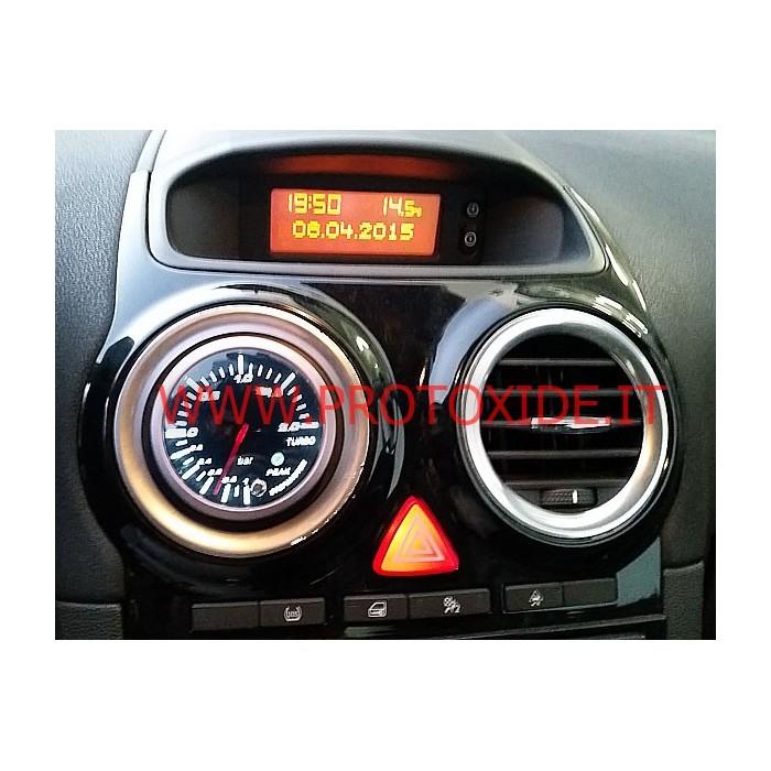 Manometro Turbo installabile su Opel Corsa OPC Manometri pressione Turbo, Benzina, Olio