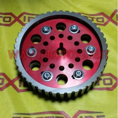Justerbar remskive for Fiat 128 og Lancia Delta 8V Justerbare motorskiver og kompressorhjul