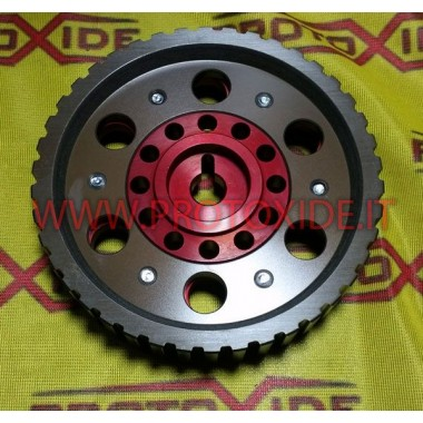 Adjustable pulley for Fiat 128 and Lancia Delta 8V Adjustable motor pulleys and compressor pulleys