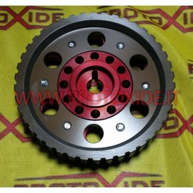 Verstelbare katrol voor Fiat 128 en Lancia Delta 8V Instelbare motorpoelies en compressorpoelies