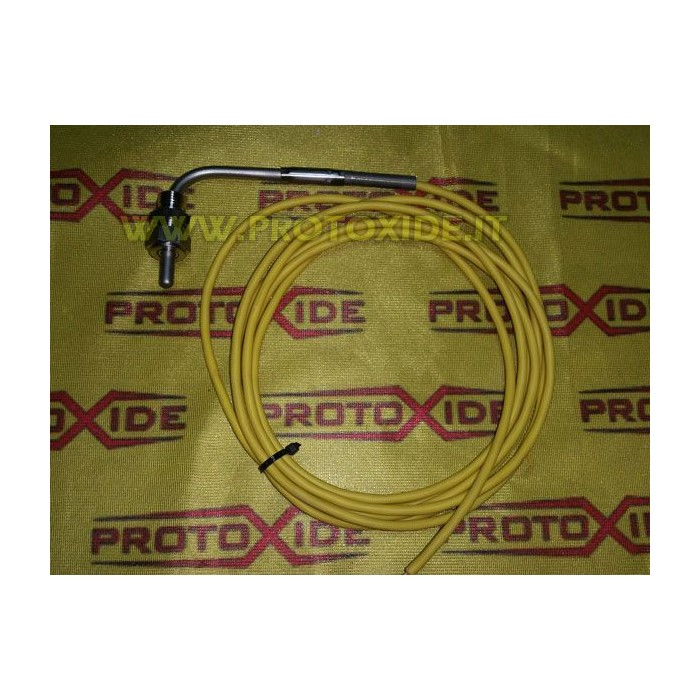 Professional K thermocouple probe with nipple