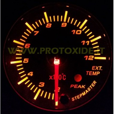 Zestaw spalin Miernik temperatury z pamięcią 60mm Mierniki temperatury