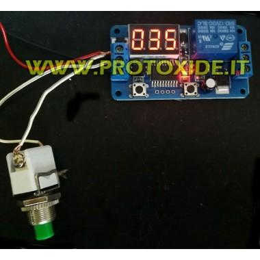Temporizador de ventilador de 1 segundo a 16 minutos. Interruptores y mandos a distancia