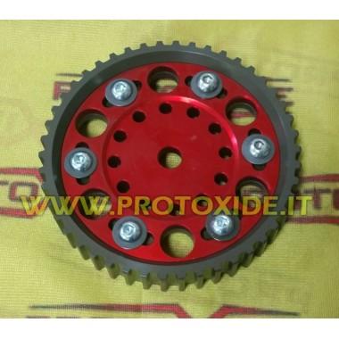 גלגלת מתכווננת כבאית פיאט אלפא לנצ'יה מנועי 8V 1200 גלגלי מנוע מתכווננים וגלגלי מדחס