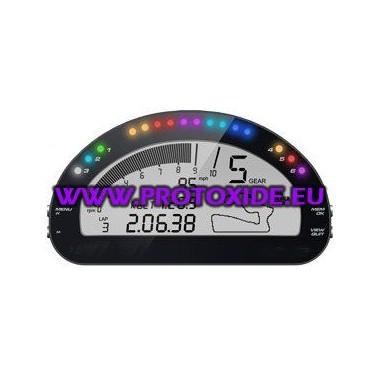 Digitálna prístrojová doska pre osobné automobily a motocykle OBD2