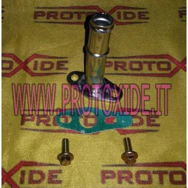 Conexión larga de drenaje de aceite para turbocompresores de hierro Garrett GT28 GT30 y Mitsubishi y KKK Accesorios Turbo