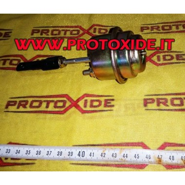 Wastegate vacuum with adjustable opening from -0.1 to -0.4 bar Internal wastegate