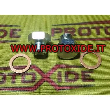 Raccordi acqua turbocompressore con portagomma corto accessoris Turbo