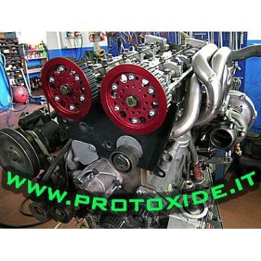 Pulegge registrabili per Lancia Delta 16V Pulegge registrabili motore e pulegge compressori