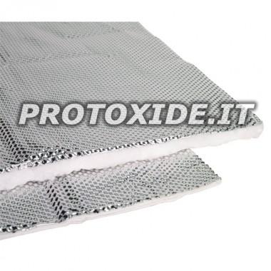 ΜΕΓΑΛΗ ασπίδα θερμότητας με μεταλλικό υλικό θερμικής προστασίας Επίδεσμοι και θερμική προστασία