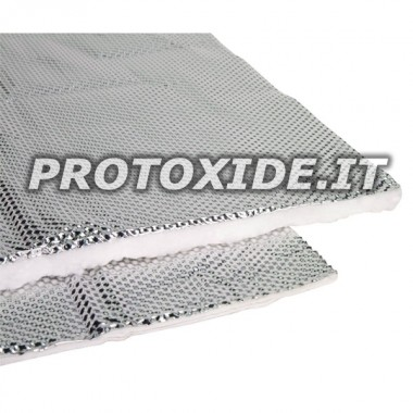GREAT heat shield with metallic thermal protection material Heatshield products and wrap