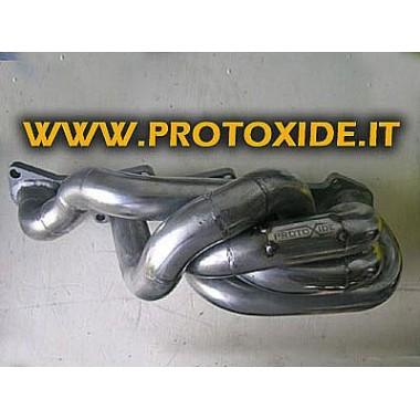 Egzoz manifoldu Fiat Coupe 2.0 20v 5 silindir Turbo Benzinli motorlar için çelik manifoldlar