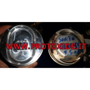 Pistoni stampati Lancia Dedra 1800 8v trasformata turbo - Fiat Croma Pistoni Forgiati Auto