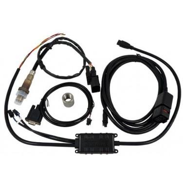 Interfaz de combustible aéreo con controlador y sonda de banda ancha sin pantalla Carburización de combustible a presión