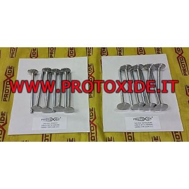 Valvole Lancia Delta 2.000 16v in materiale speciale e maggiorate nimonic 16 pezzi Valvole e Punterie testata