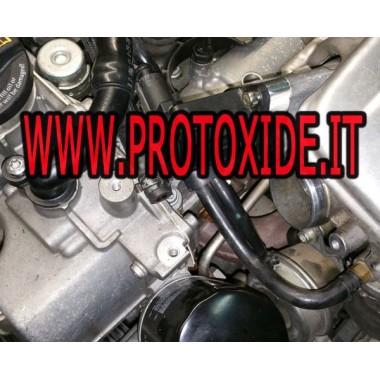 Golf 1.4 FSI 140-170 hp için özel ayırıcı ile Popoff Vana Kapalı Pop