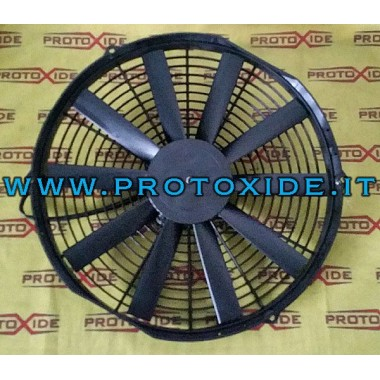 Motor soğutma suyu radyatör Lancia Delta 2000 turbo fan fanlar