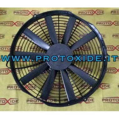 ventilators dzinēja dzesēšanas šķidruma radiatoru Lancia Delta 2000 turbo fans