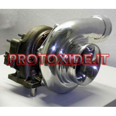 מגדש טורבו GTO 28 על BEARING S70 Turbochargers על מסבי מירוץ