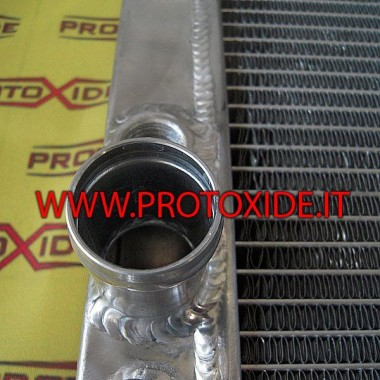 Bigger water engine radiator for Lancia Delta 8-16v 2000