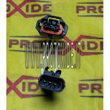 Extension rapide avec connecteurs mâle-femelle 3 voies Bosch 2 Connecteurs de l'unité de commande et câblage de l'unité de co...