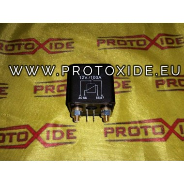 100 relé AMP 12V akumulátor spínač elektronický staccacarico Switches and remote controls