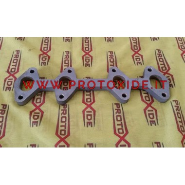 Flange exhaust manifolds Fiat 1100 -1200 to 1400 8v Fire Point - Panda Flanges exhaust manifolds