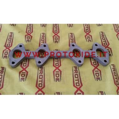 Flanş egzoz manifoldu Fiat 1100 -1200 1400 8v Yangın Point - Panda Flanşlar egzoz manifoldları