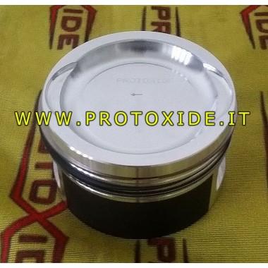Pistones moldeados descomprimidos para la conversión del motor Turbo Fire 1.400 8v Pistones automáticos forjados