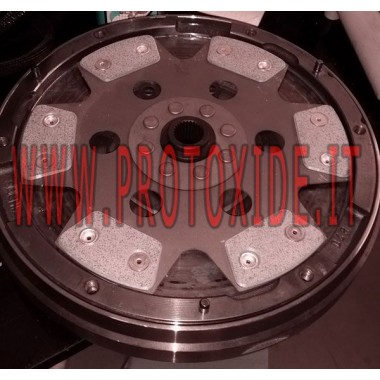 Kupari kytkinlevysovitelman 5 plakkia MiniCooper R56-R59 Peugeot RCZ 1600 Vahvistetut kytkinlevyt