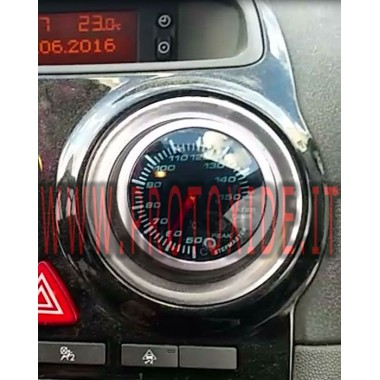 Water temperature meter with memory and peak installed on Opel OPC Race. COMPLETE KIT