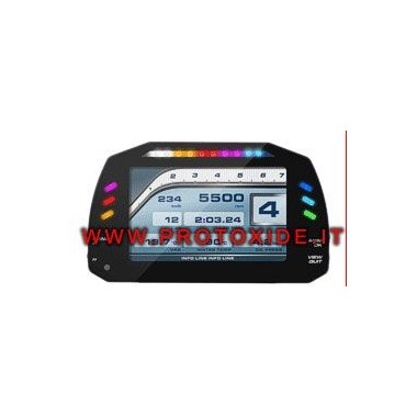 Digital dashboard for cars and motorcycles OBD2