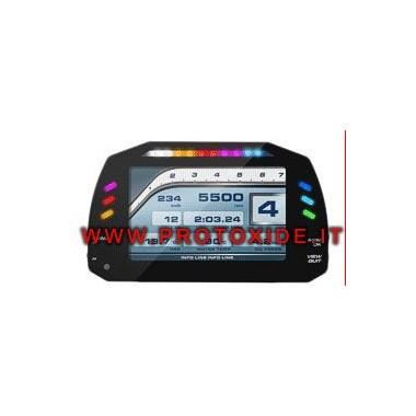 Digitāls kontrolpanelis automašīnām un motocikliem OBD2 Digitālās informācijas paneļi