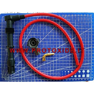 Custom made ProtoXide 8.8 spark plug cables kit