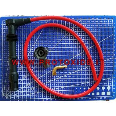Wykonany na zamówienie zestaw kabli świec zapłonowych ProtoXide 8.8 Kabel świecowy i zaciski DIY