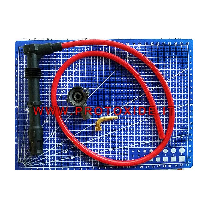 Custom made ProtoXide 8.8 spark plug cables kit Spark wires and DIY terminals