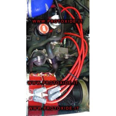 fils de bougie d'allumage Renault 5 GT haute conductivité uniquement par le moteur d'injection pour 4 bobines Câbles de bougi...